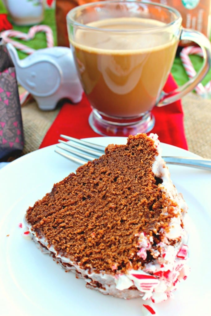 Peppermint Mocha Coffee and Bundt Cake