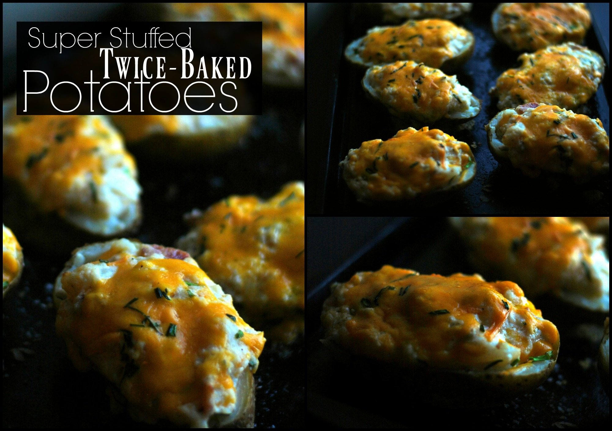Super Stuffed Twice Baked Potatoes
