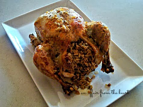 Easy Baked Chicken With Wild Rice