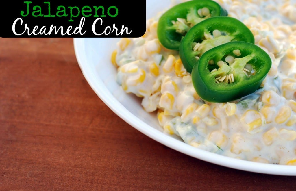 Jalapeno Creamed Corn | Aunt Bee's Recipes