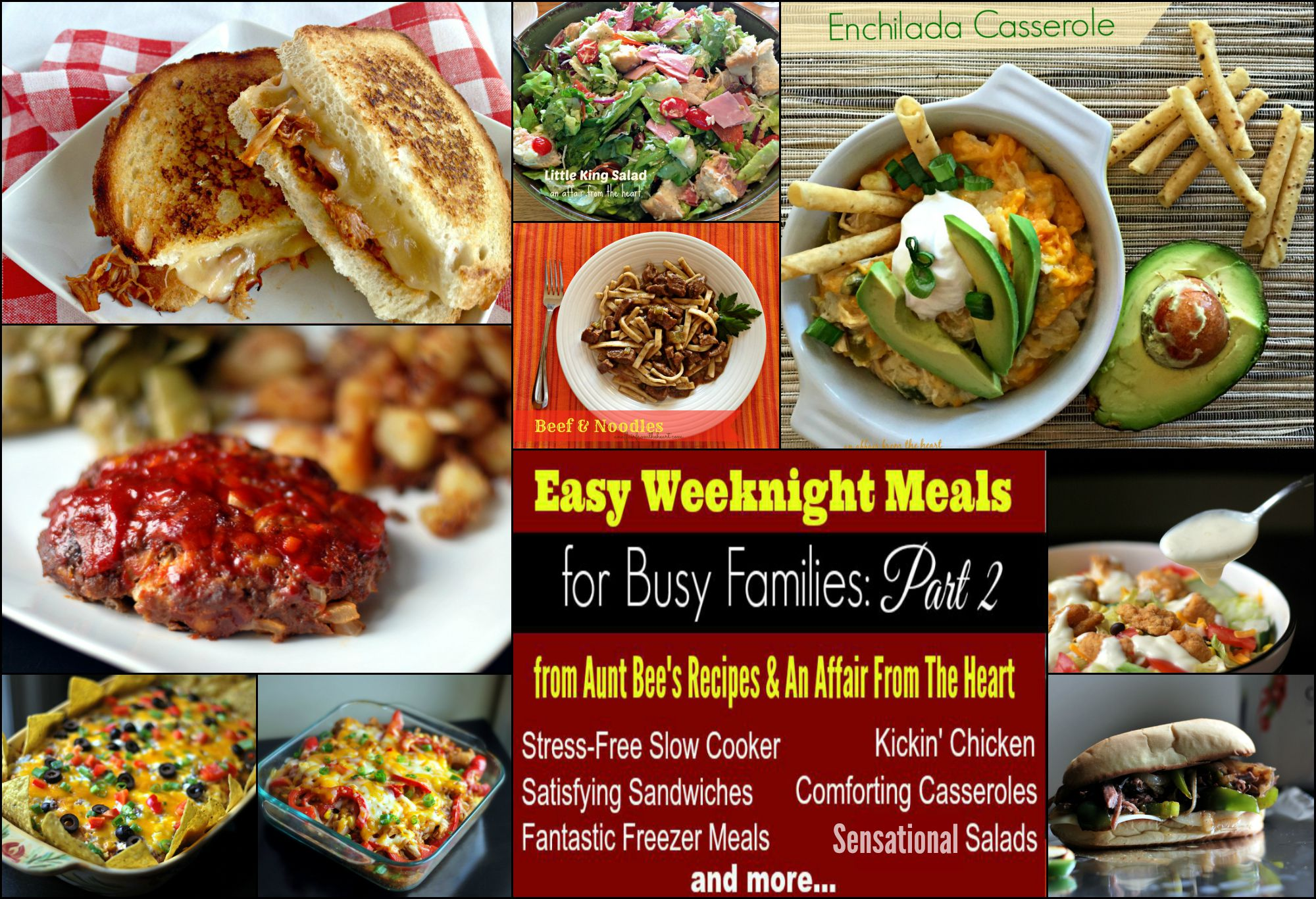 Easy Weeknight Meals For Busy Families: Part 2