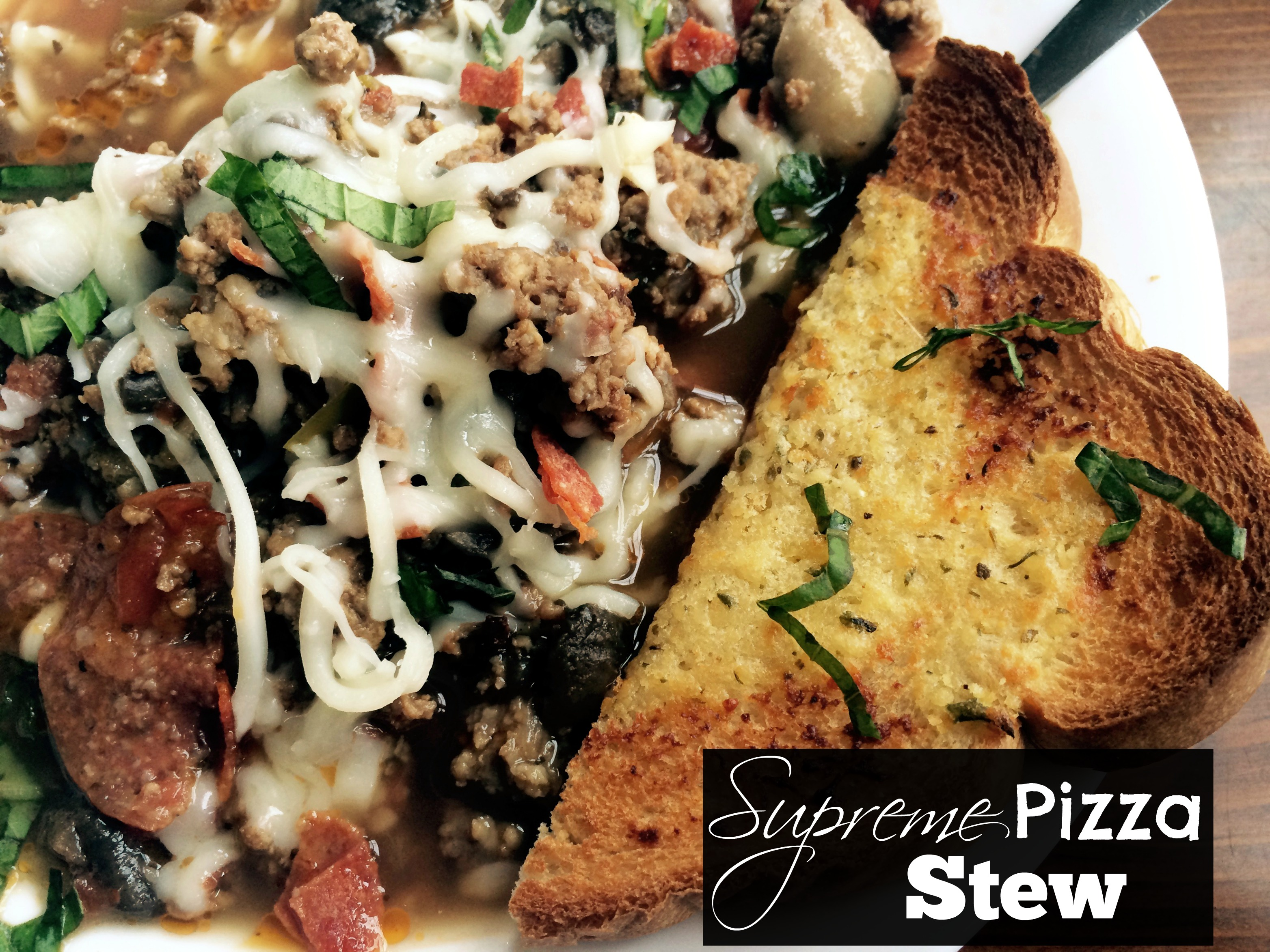Supreme Pizza Stew