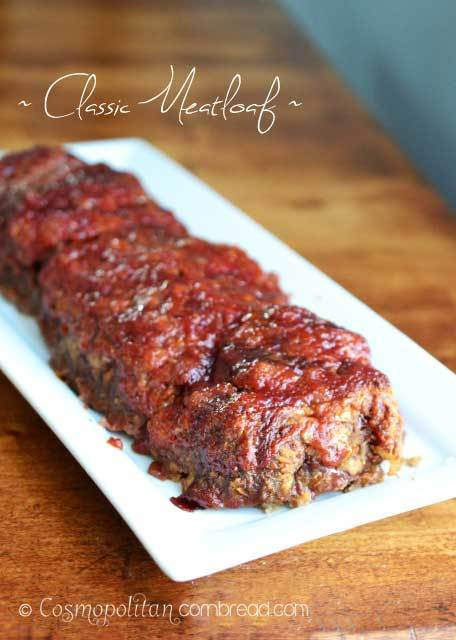 Classic Meatloaf from Cosmopolitan Cornbread