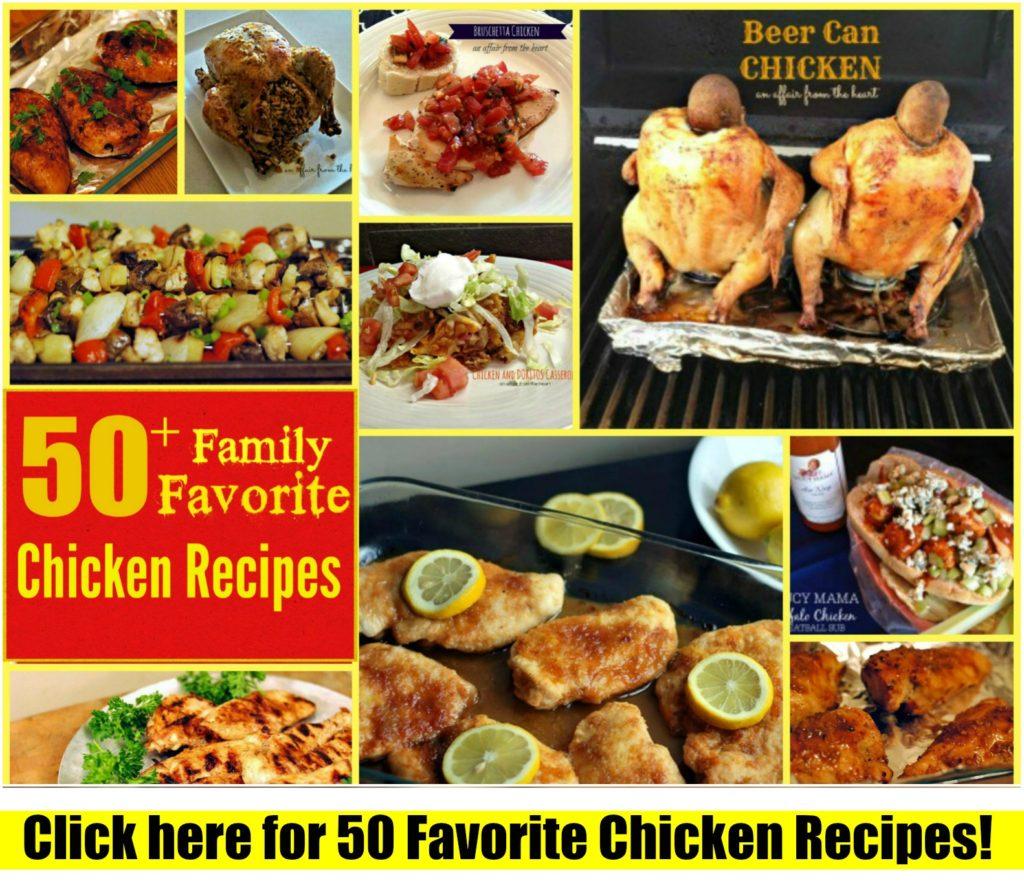 Top 50 Chicken Recipes