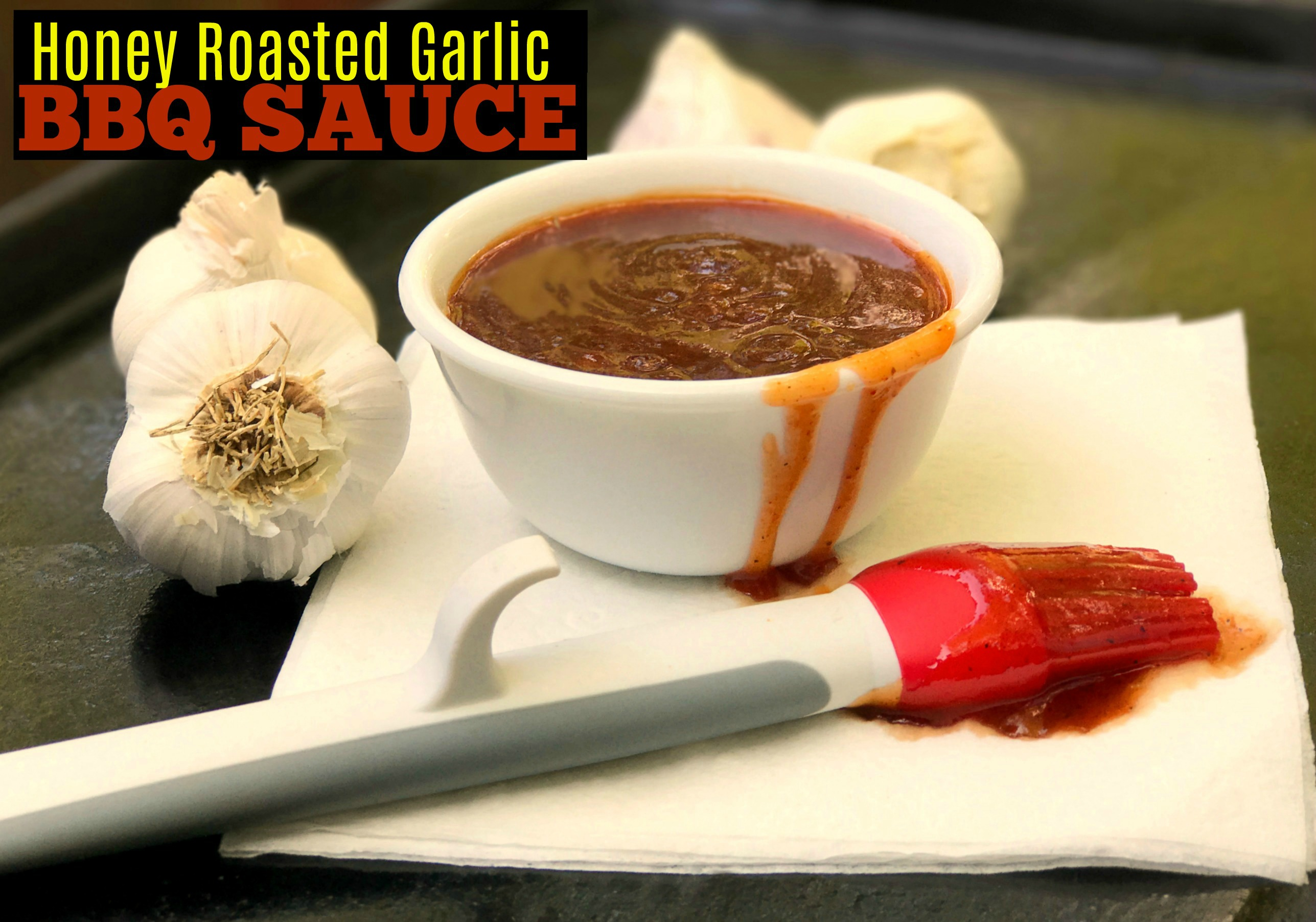 Honey Roasted Garlic BBQ Sauce