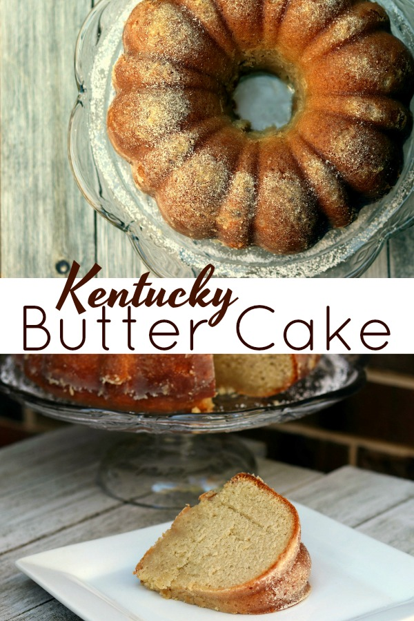 Kentucky Butter Cake | Aunt Bee's Recipes