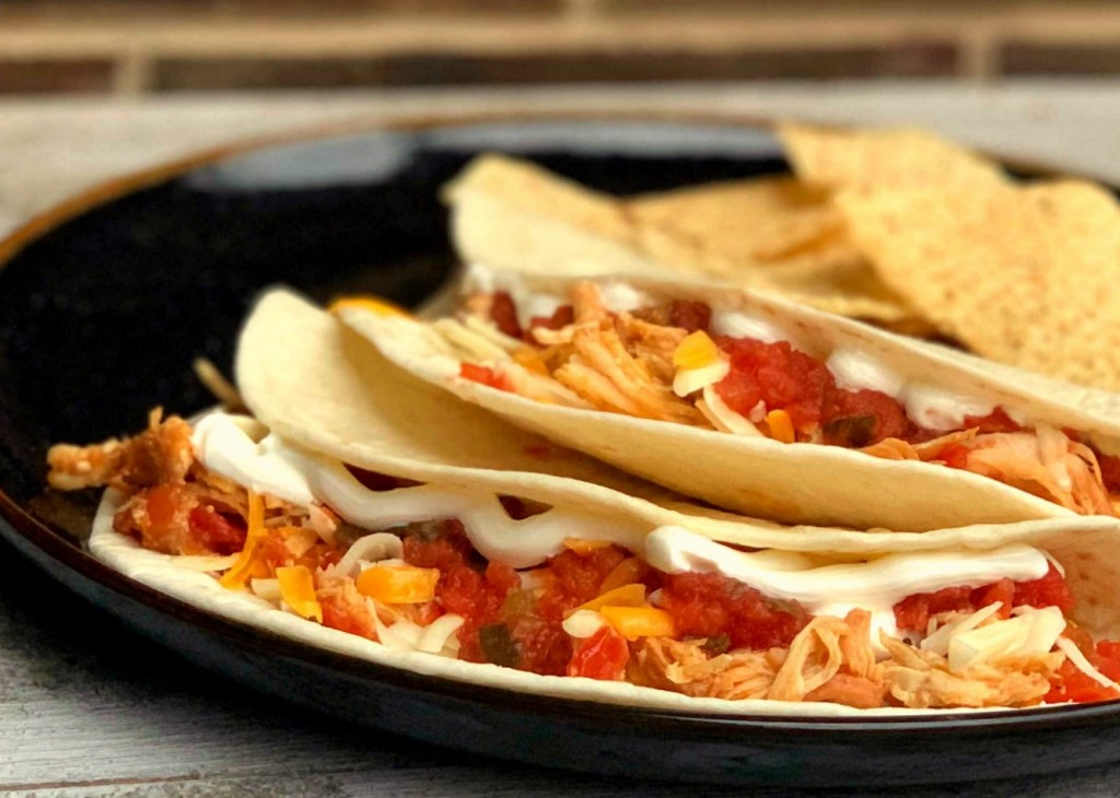 Slow Cooker Ranch Chicken Tacos 10